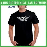 Jual Kaos Aerosmith Logo 1 Gildan GLD-KAR01 Murah