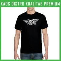 Jual Kaos Aerosmith Logo 1 Pria OBL-KAR01 Murah