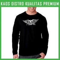 Jual Kaos Aerosmith Logo 1 Lengan Panjang LPG-KAR01 Murah
