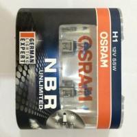 Lampu Mobil Osram Night Breaker Unlimited (NBR) H1 55w Diskon