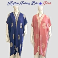 KAFTAN BATIK Piring. Batik Wanita Modern Indonesia. Dress Batik KF006