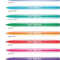 Pulpen Zebra Penciltic warna warni Pen Bolpen Ballpoint Pensiltic 0.4