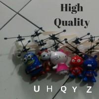 Flying heli sensor karakter - RC heli - helikopter Drone mainan anak