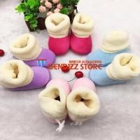 Promo Sepatu boots infant bayi untuk winter / Musim din Termurah