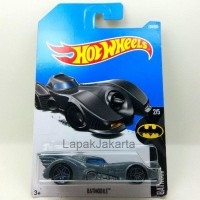 Hot Wheels Batmobile Batman Diecast Movie Series Car Mainan Anak