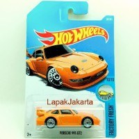 Hot Wheels Porsche 993 GT2 Diecast Sport Car Koleksi Mainan Anak
