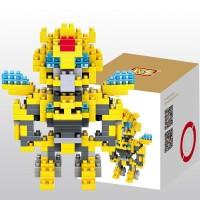 Lego Loz transformer bumblebee