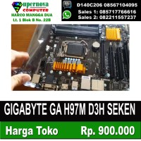 GIGABYTE GA H97M D3H SEKEN TERMURAH