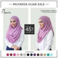 Hijab Kerudung Jilbab Nurjannah Ceruti Instan