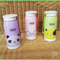BRG-17000587 Thermos Bottle b34-1 Botol Termos Karakter Animal 550ml