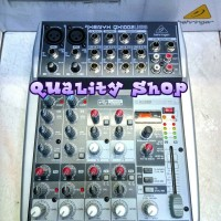 mixer behringger XENYX QX 1002 ( 10 Channel ) original