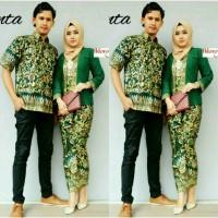 Jual Couple Batik Kebaya Kutubaru Rok Lilit Murah