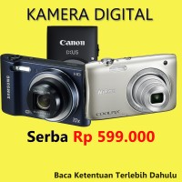 Kamera Digital Serba 599rb (Sony Canon Nikon Samsung dll) Updated