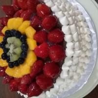 kue ulang tahun birthday cake natural green tea with fresh cream