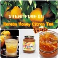 Korean Honey Citron Tea (Teh Jeruk Madu Asli Korea) Jam Minuman Sehat