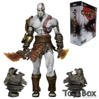 EXLUSIVE MAINAN ACTION FIGURE GOD OF WAR KRATOS FULL ARTIKULASI NECA