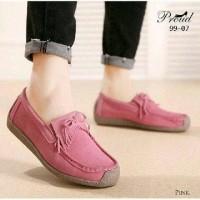 Sepatu Terbaru Wanita Flat Shoes Korean Style Salem Bata F216 Sandal