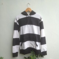 Jual Naval Made Denim Stripes Hoodie Murah