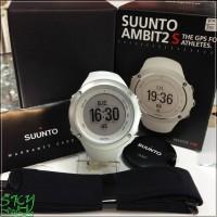 BEST QUALITY Jam Tangan Suunto SS020552000 Ambit2 S White with HR Ori
