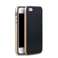 ORIGINAL 100% Case IPAKY Iphone 5/5G/5S/SE Soft Carbon + Bumper Frame