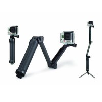 Jual HOT ! TRIPOD KAMERA DIGITAL 3 WAY GRIP ARM FOR SJCAM GOPRO XIAOMI YI Murah