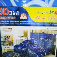 New Sprei Lady Rose Karina No.1 King 180 Seprai Sprai Bantal Guling