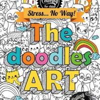 Jual Buku Drawing & Coloring for Adults: The Doodle Art Murah