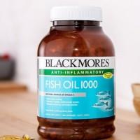 Jual Minyak Ikan Blackmores Fish Oil 1000mg 400 Capsules Anti Inflamasi Murah
