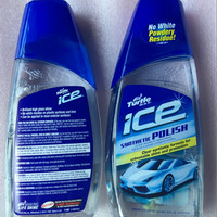 TURTLE WAX ICE SYNTHETIC POLISH MADE IN USA/ PREMIUM SYNTHETIC POLISH