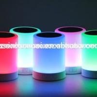 Jual (Diskon) LAMPU SPEAKER BLUETOOTH + RADIO TOUCHSCREEN LAMP EMERGENCY Murah