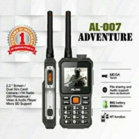 HP ALDO AL-007 Adventure Handy Talkie HT Function Powerbank 6.000 maH