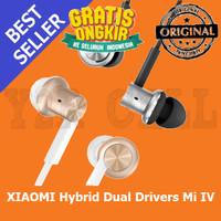 Jual XiaoMi Mi IV Hybrid Dual Drivers Earphones In-Ear Headphones driver Murah