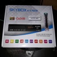Jual Receiver Parabola Skybox A1 New AVS+ MPEG4 HD - Bisa untuk Ninmedia Murah