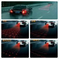 Car/Bike Laser Fog Light Taillight / Lampu Rambu Laser