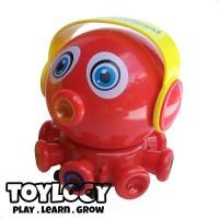 Original Mainan Bayi Musik dan Lampu - Jolly Octopus Electric