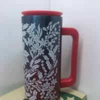 Starbucks Stainless Christmas Mug Red 12oz