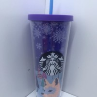 Starbucks Coldcup Snowy Forest 24oz