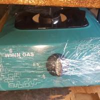 LIMITED EDITION KOMPOR GAS MERK WIN GAS SATU TUNGKU BODY TEBAL HOT PRO