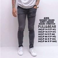 Harga grey smoke long pants jeans celana panjang jins abu polos bagus | Pembandingharga.com