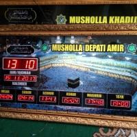 Jam digital sholat masjid murah berkualitas 1
