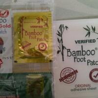 Jual Koyo Bamboo Gold Original / Gold Premium Detox Foot Patch Murah
