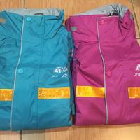 Jas Hujan / Mantel Hujan Spesial Pink dan Tosca Brand AXIO