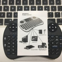 Mini Keyboard & Mouse Wireless i8, Touchpad, 92 Key, Fly Air Mouse