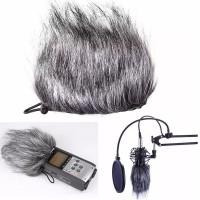 Bulu Mic Windscreen Microphone Wind Muff Shield Cover Zoom H1 H4N Sony