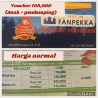 Voucher Fanpekka + 1 Pendamping ALL Day AEON MALL Garden City