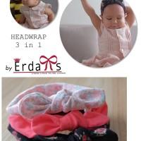 Jual Headwrap Bayi / headband bayi/ bando bayi / headwrap anak  Murah