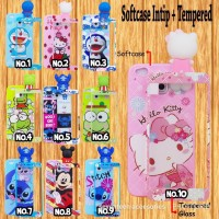case intip for  samsung j1ace +tempered glass
