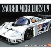 Jual Mokit Hasegawa 1/24  Sauber Mercedes C9  Murah