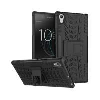Case Sony Xperia C6 - Rugged Armor Stand / Hybrid / TPU Stand Bumper