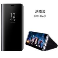 Original Clear J5 J7 PRO 2017 Samsung S View Flip Cover Stand hp case